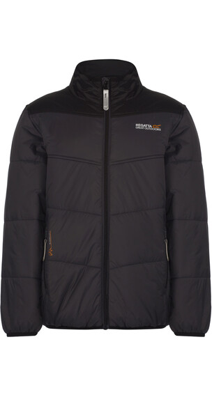 Regatta Icebound II Jacket Kids Seal Grey/Black